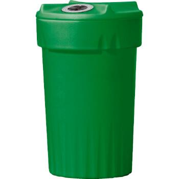 מתקן איסוף מיכלי משקה בנפח 150 ליטר דגם אקליפטוס להפרדת כלל סוגי הפסולת