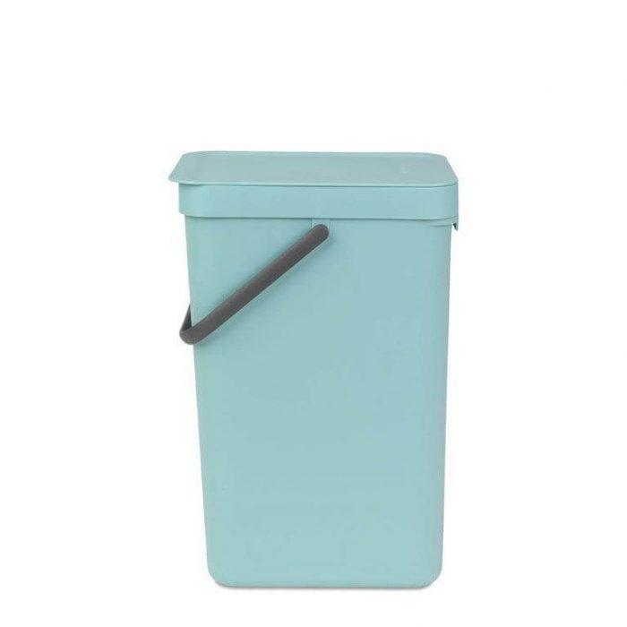 פח הפרדה בצבע מינט 16 ליטר