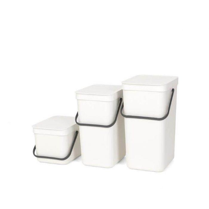 פחי הפרדת פסולת לבנים ברבנטיה