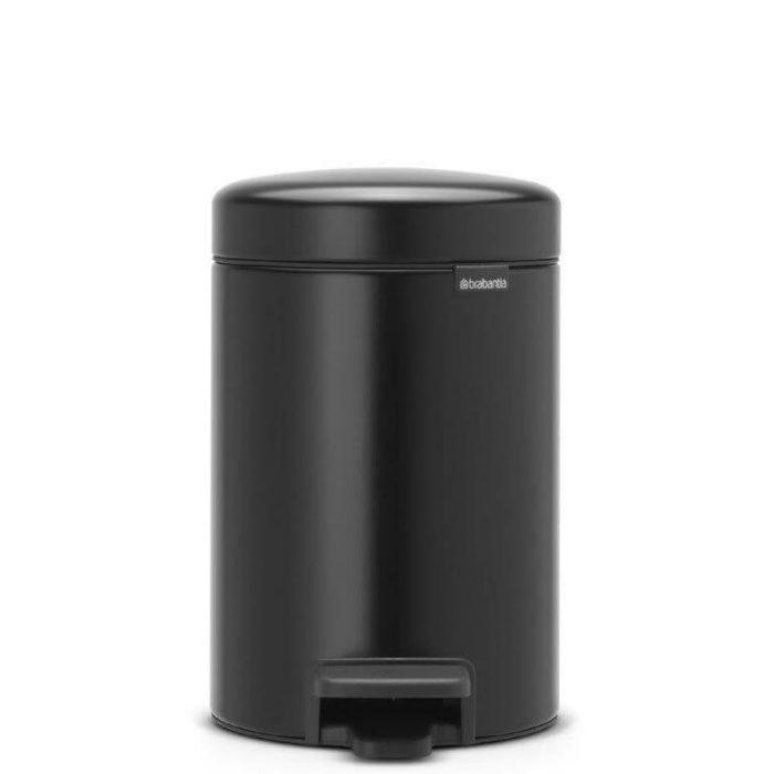 פח פדל שחור 3 ליטר ברבנטיה