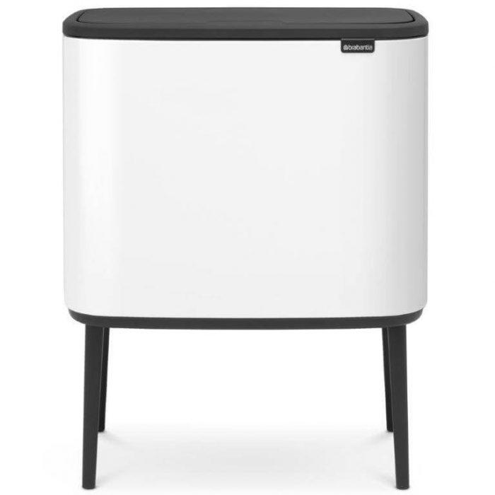 BO טאץ' 36 ליטר - פח אשפה למטבח בצבע לבן