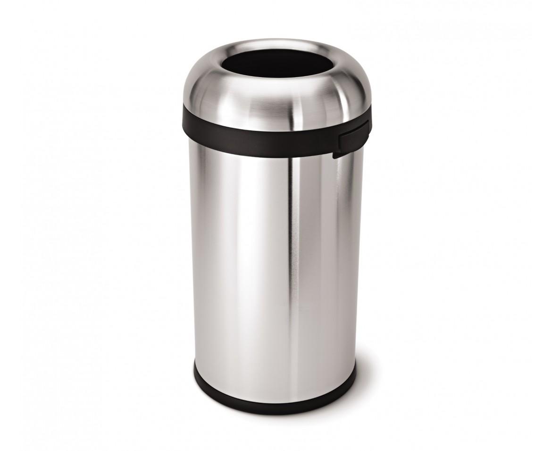 פח אשפה עם פתח רחב 60 ליטר - Simp