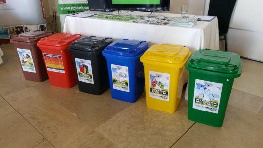 פחים צבעוניים - חינוך סביבתי
