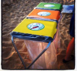 מתקן קנגרו 3 תאים - ממחזרים גם בחוף